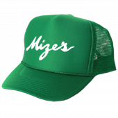 Logan Mize Green Trucker Hat