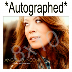 Angie Johnson Autographed 8x10
