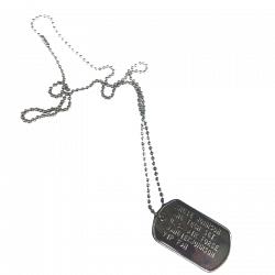 Angie Johnson Dog Tag