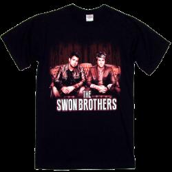 Swon Brothers Black Tee