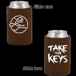 Leah Turner Brown Pocket Coolie- Take the Keys