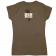 Ben Rue Ladies Charcoal Tee- I Can't Wait